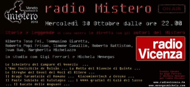 """""""Radio Vicenza: sette declinazioni misteriose creano un picco di audience"""""""